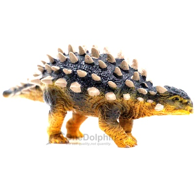OneDolphin Ankylosaurus Toy Figure Jurassic Dinosaur Toys Figures as Kids Party Supplies Cake Topper 6-inch Gift for Collection