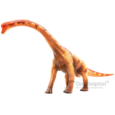 OneDolphin Brachiosaurus Toy Figure Jurassic Dinosaur Toys as Kids Party Supplies 13-inch Gift for Collection