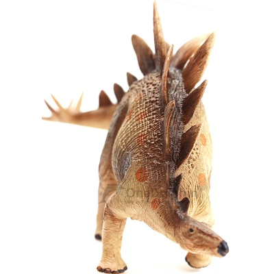 OneDolphin Stegosaurus Toy Figure Jurassic Dinosaur Toys as Kids Party Supplies 6.5-inch Gift for Collection