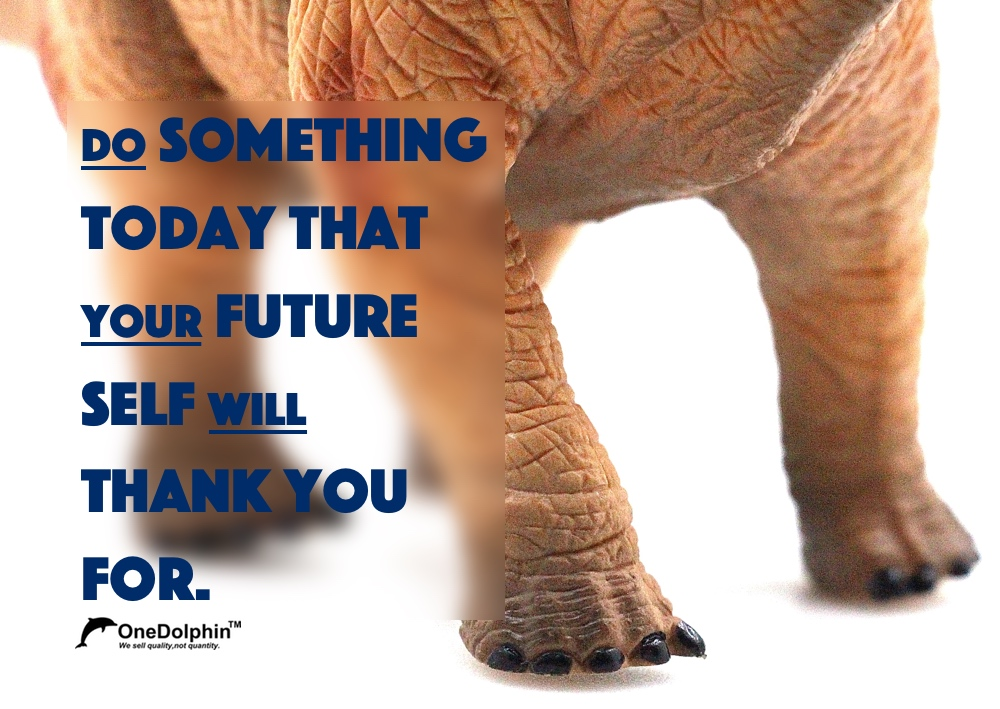 Apatosaurus: do something today that your future self will thank you for.