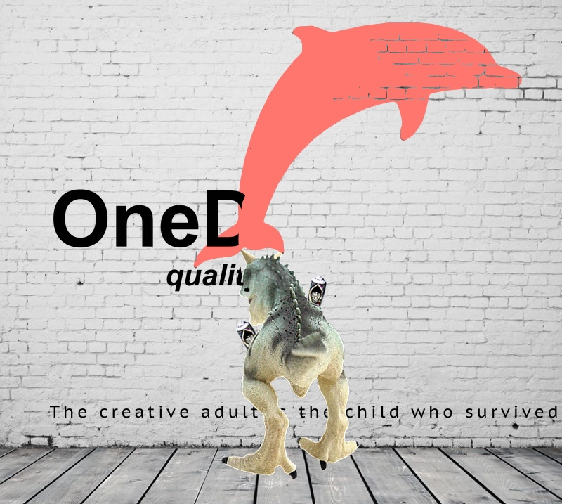 Carnotaurus: The creative adult is the child who survived.