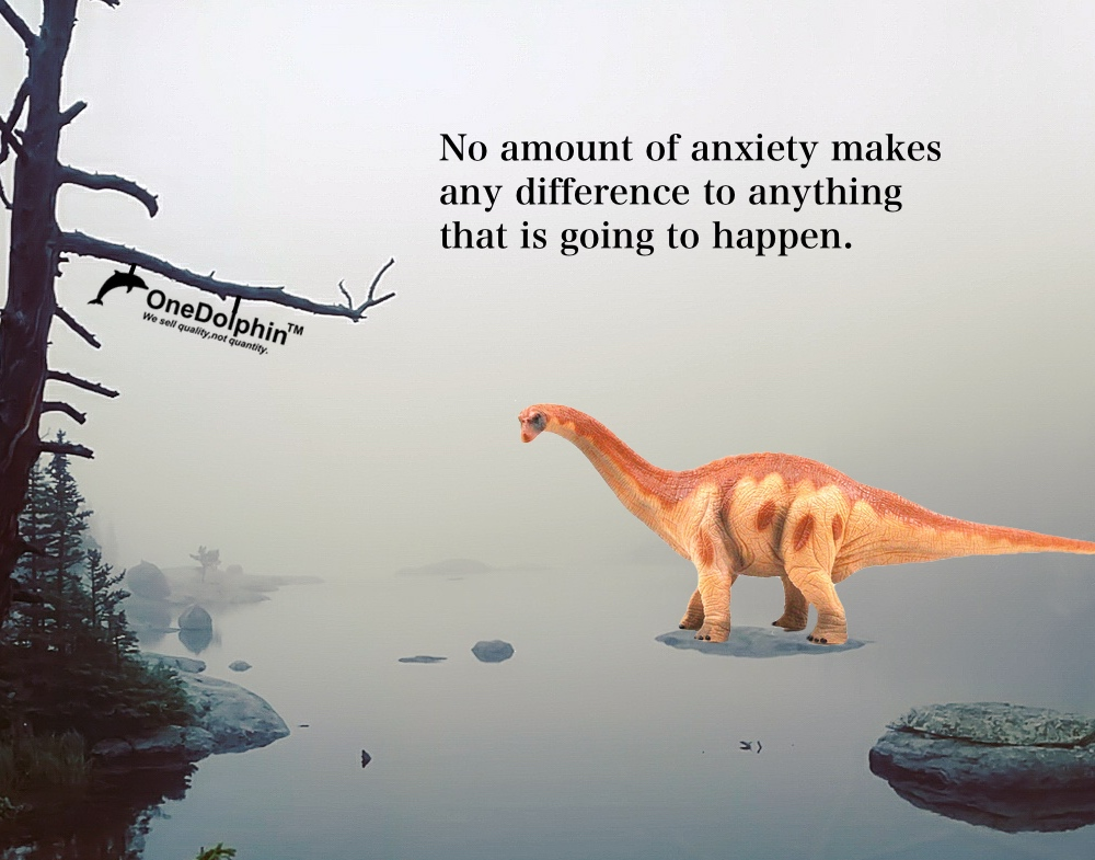 Apatosaurus: something I tell myself to ease my worry