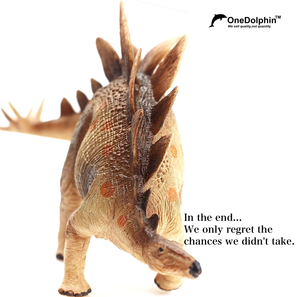 Stegosaurus: In the end...We only regret the chances we didn't take