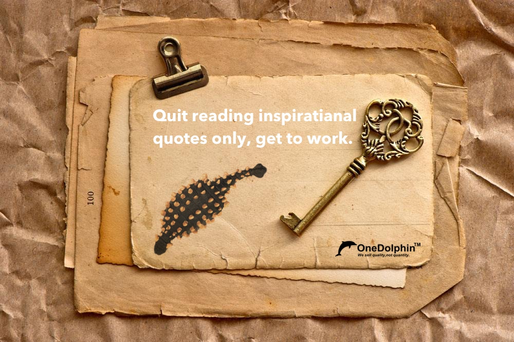 Ankylosaurus: quit reading inspiratianal quotes only, get to work.