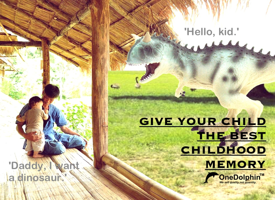 Carnotaurus: GIVE YOUR CHILD THE BEST CHILDHOOD MEMORY