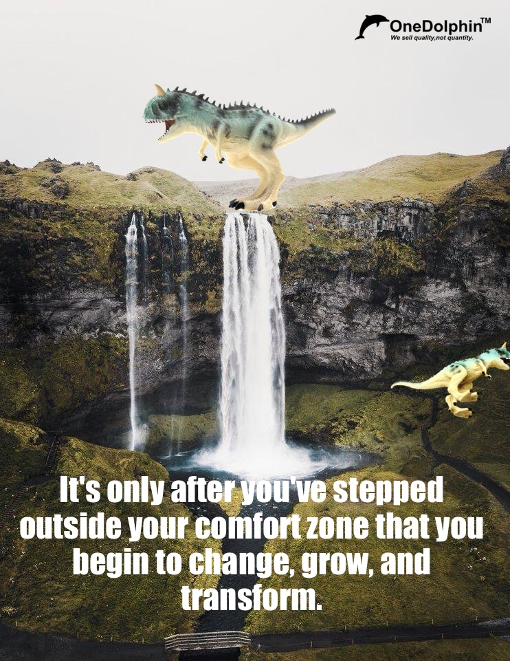 Carnotaurus: outside your comfort zone that you begin to change