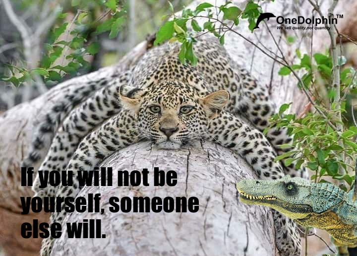 Spinosaurus: If you will not be yourself, someone else will.