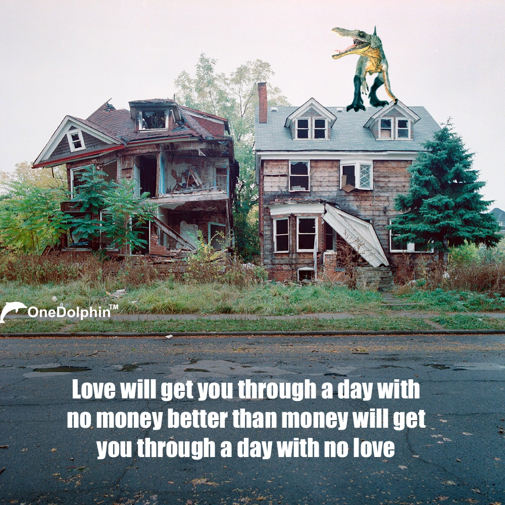 Spinosaurus: Love will get you through a day with no money
