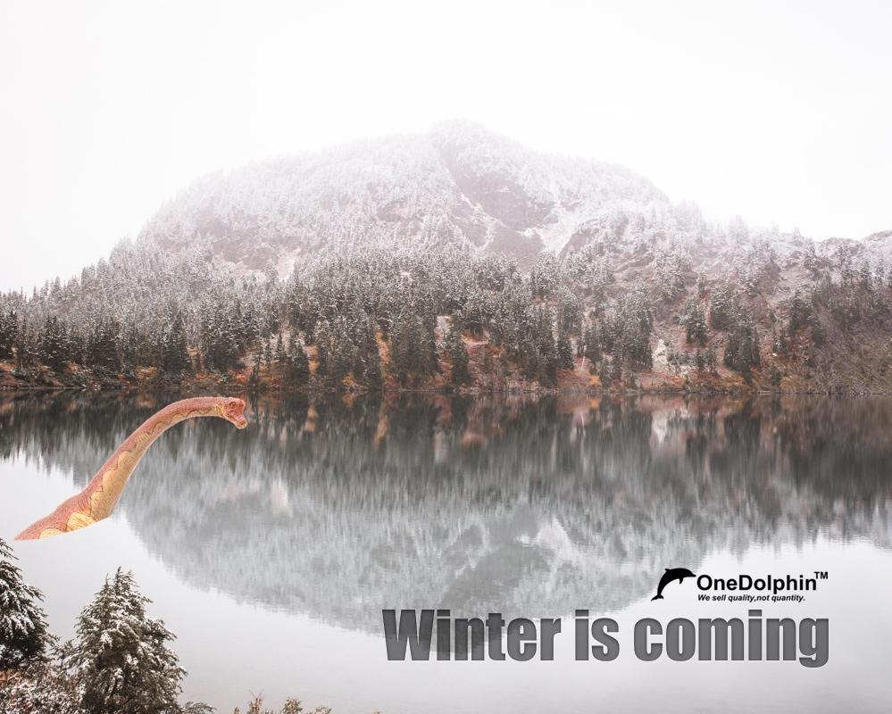 Brachiosaurus: Winter is coming.