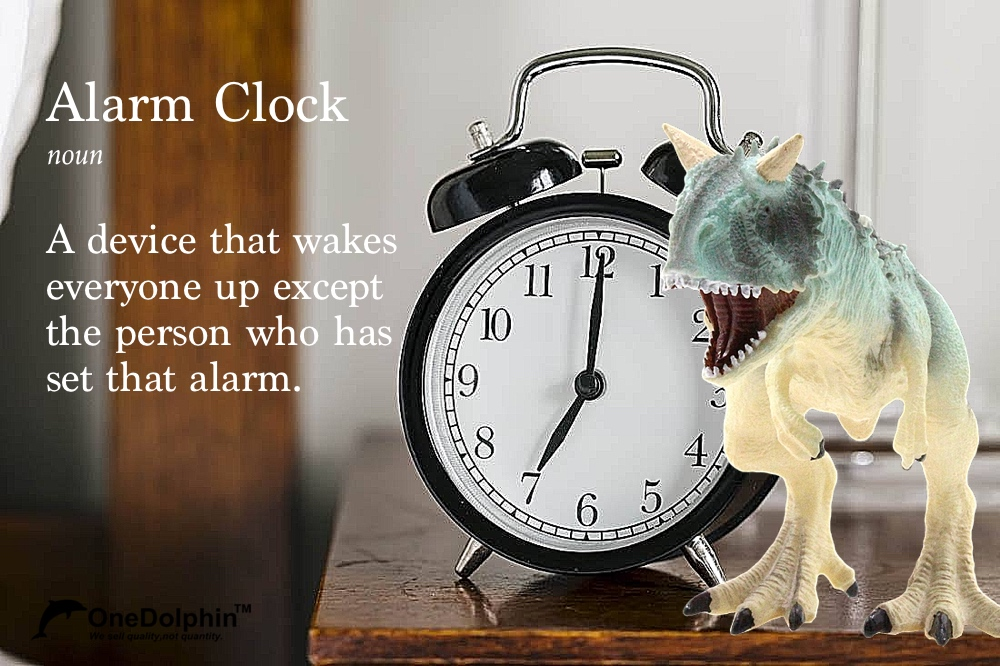 A device that wakes everyone up except the person who has set that alarm.