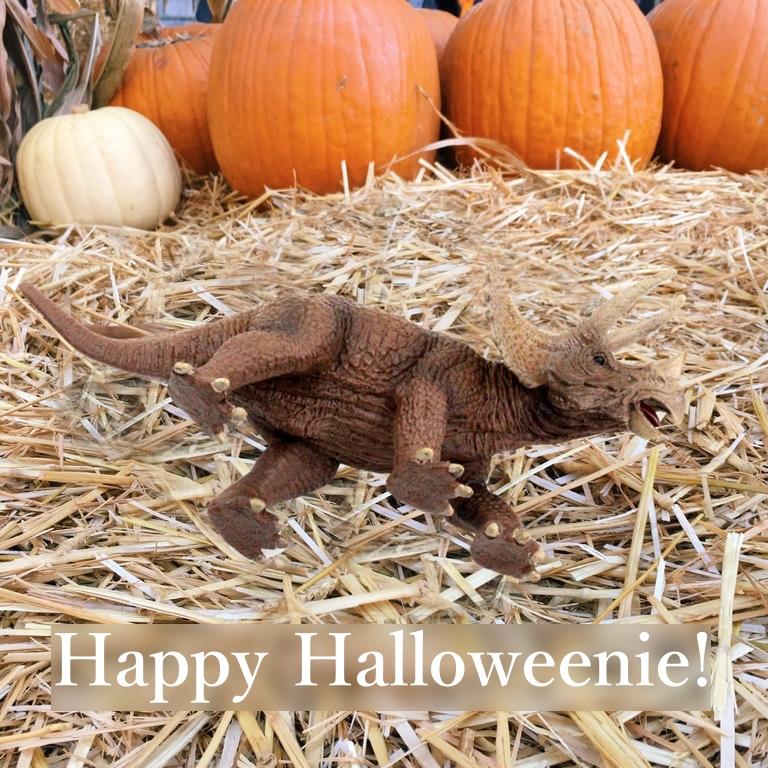 Triceratops: Happy Halloweenie~