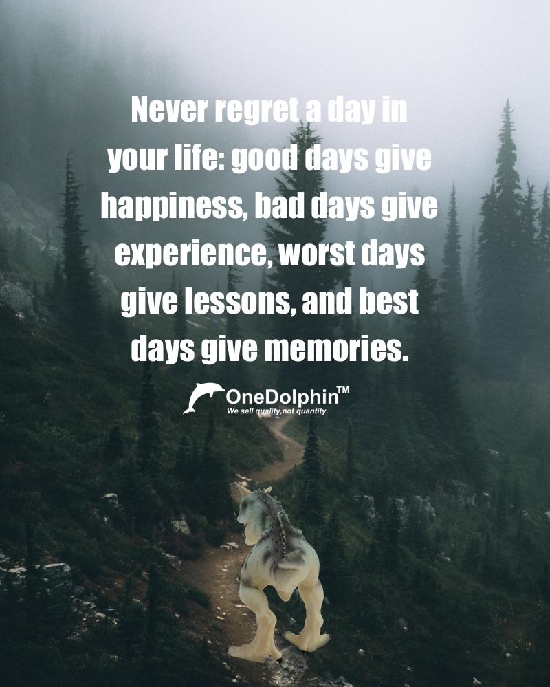 Carnotaurus: Never regret a day in your life