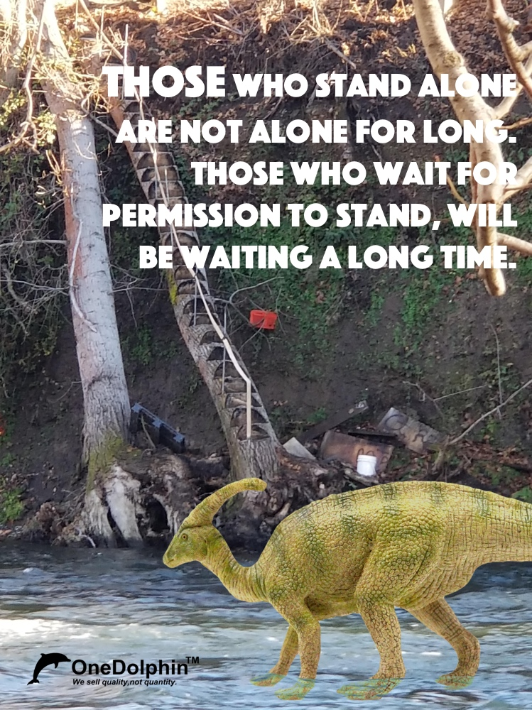 Parasaurolophus: Those who stand alone are not alone for long