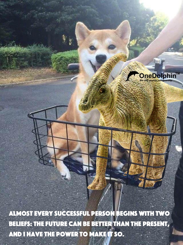 Parasaurolophus: ALMOST EVERY SUCCESSFUL PERSON BEGINS WITH TWO BELIEFS