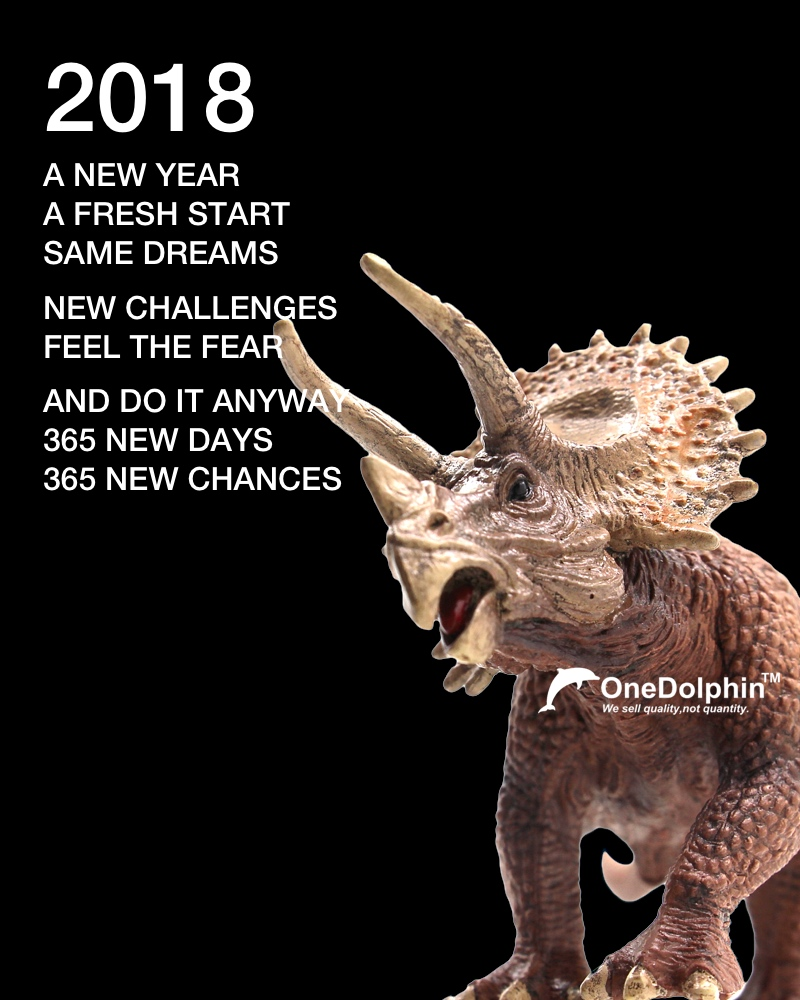 Triceratops: A NEW YEAR A FRESH START