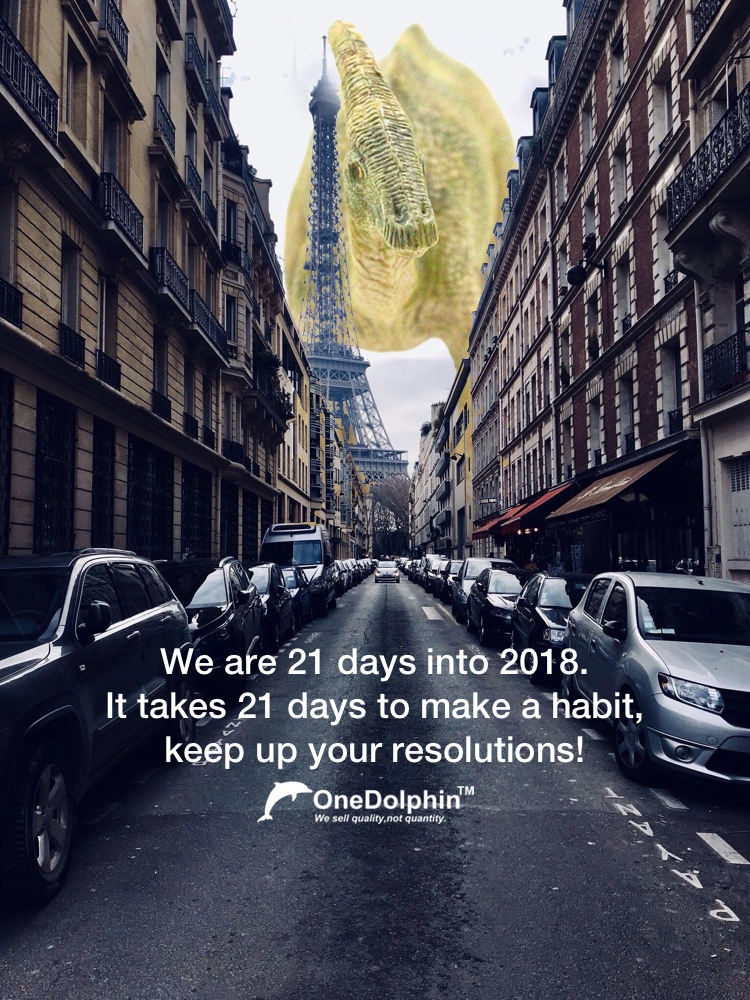 Parasaurolophus: We are 21 days into 2018.