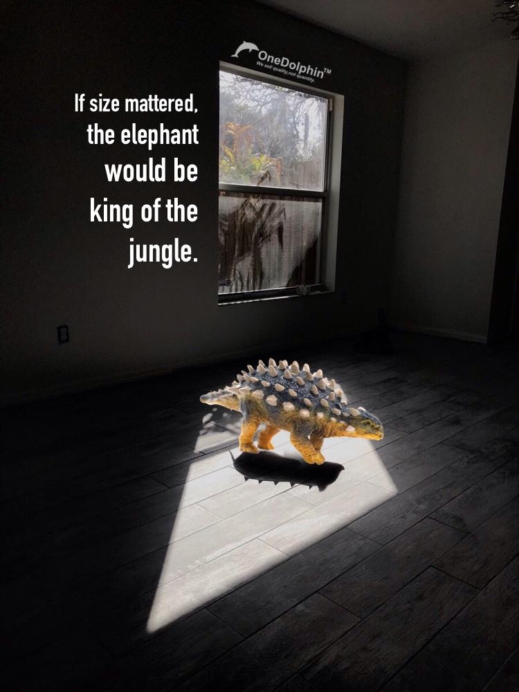 Ankylosaurus: If size mattered...