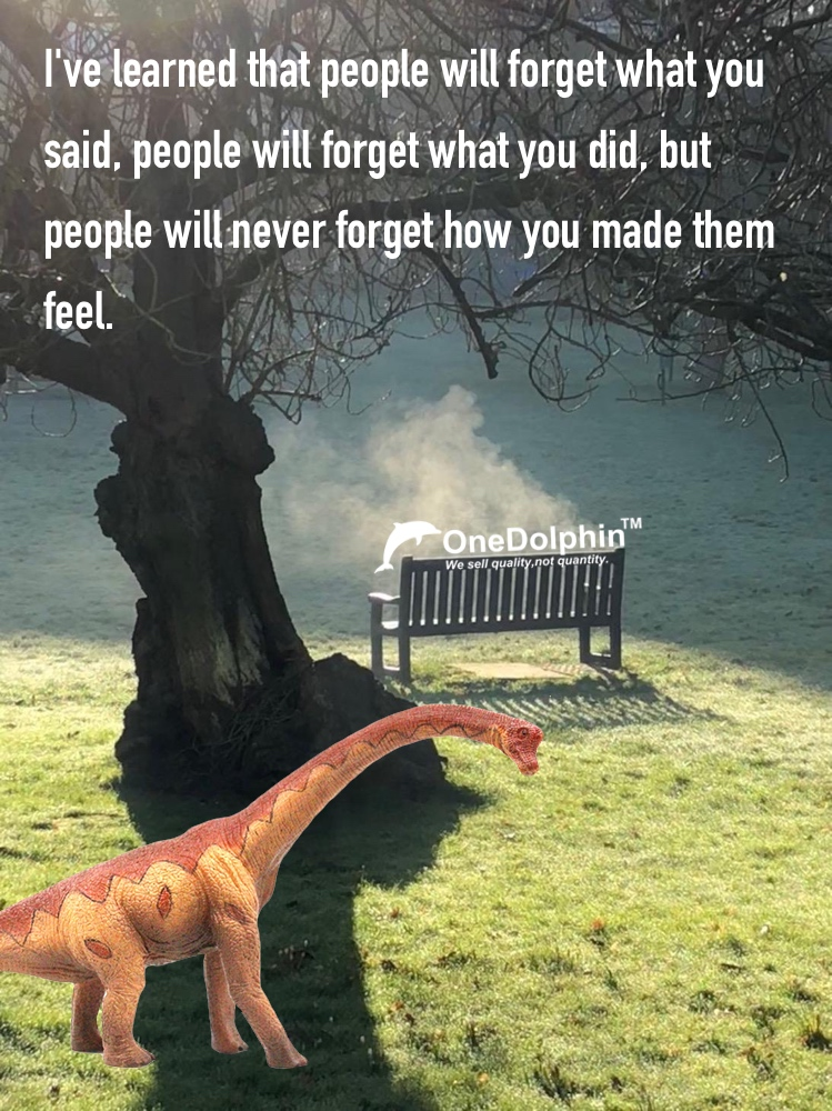 Brachiosaurus: people will never forget how you made them feel
